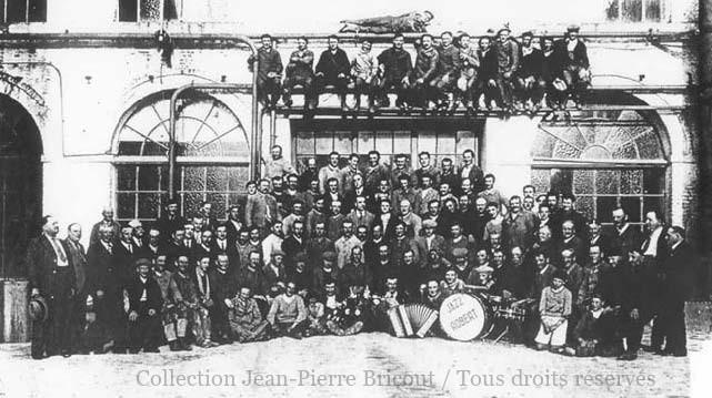 Fête de la sucrerie de Francières 07 juin 1936. Collection Jean Pierre Bricout.