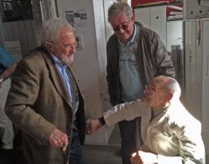 Michel Varoqueaux, Pierre Lerible, Jean Clériot