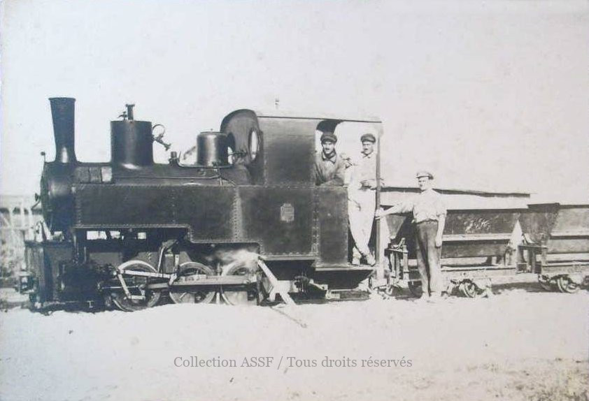 Locomotive à la  Sucrerie de Neuilly-Saint-Front