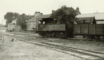 Locomotive à la  Sucrerie de Nangis (77)