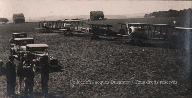 Le terrain du meeting de Francières (1933)