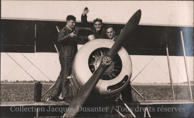 Meeting de Francières - Les mécaniciens de Beauvais (1933)